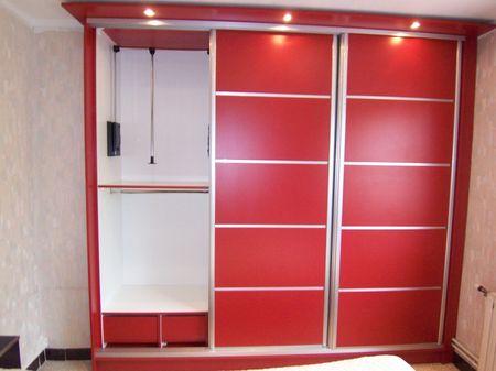 porte coulissante en m lamin vente de placards et. Black Bedroom Furniture Sets. Home Design Ideas