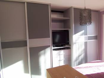 portes coulissantes en m lamin istres rangement sur. Black Bedroom Furniture Sets. Home Design Ideas